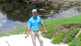 David Damesworth, PGA: Greenside Long Bunker Shot