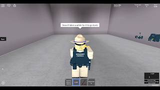 California highway patrol (roblox) what you get as a officer?