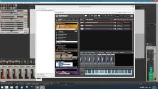 Настройка MIDI и AUDIO каналов KONTAKT 5 в REAPER v4.73