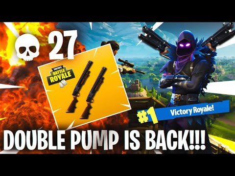 *NEW* DOUBLE PUMP GLITCH in FORTNITE!  Fortnite Battle Royale Double Pump Glitch Tutorial