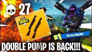 *NEW* DOUBLE PUMP GLITCH in FORTNITE! - Fortnite Battle Royale Double Pump Glitch Tutorial