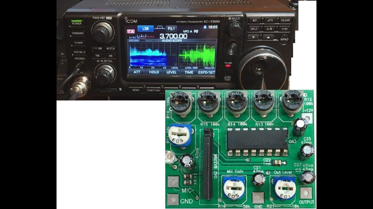 Ham Radio Basics--Connecting An XLR Microphone To An Icom