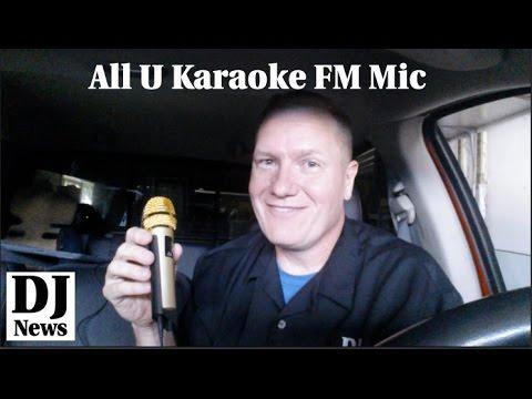 All U Karaoke FM Transmitter Microphone #VocoPro