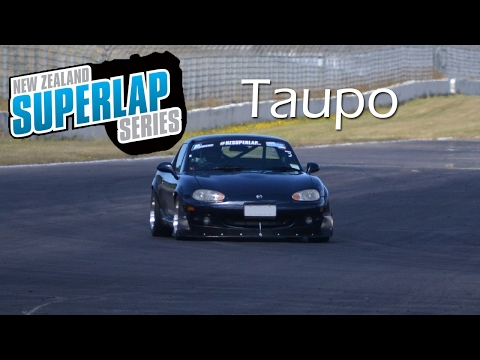 NZ Superlap Round 2   Taupo