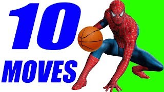 10 SPIDERMAN Basketball Moves Tutorial! How To EMBARRASS Defenders!
