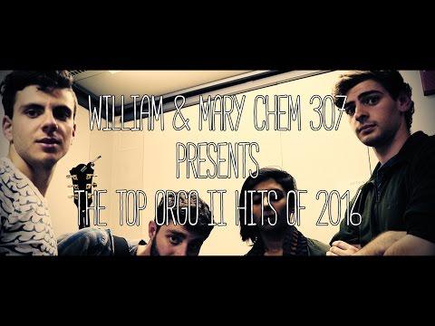 CHEM 307 - Orgo II Top Hits of 2016
