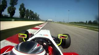 Misano Formula 3 Onboard Michael Lewis 2011