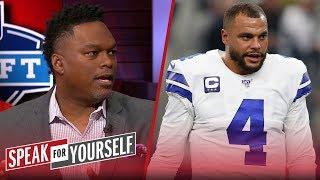 Dak won't be satisfied if Cowboys franchise tag him — LaVar Arrington   NFL   SPEAK FOR YOURSELF