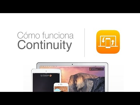 Cómo funciona Handoff y Continuity en iOS 8 y OS X Yosemite