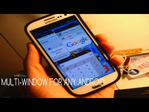 How To Get Multi-Window Features On Your Android Phone!