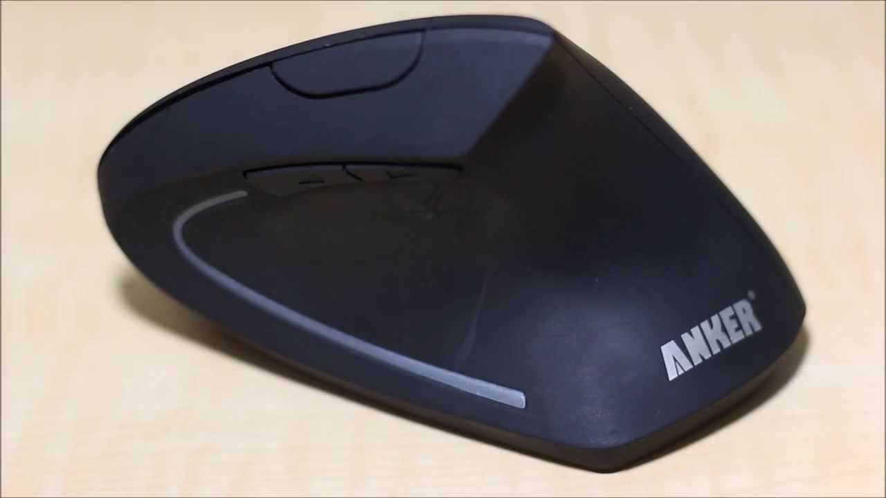 3dfcedcf757 Anker 2.4G Wireless Vertical Ergonomic Mouse Review - YouTube
