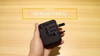Universal Travel Adapter International Power Adapter