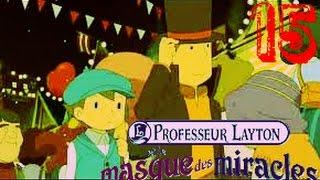Professeur Layton et le Masque des miracles épisode 15 le Casino