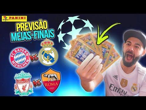 QUEM PASSA?! PREVISÃO MEIAS-FINAIS CHAMPIONS LEAGUE!!! 🏆🔥 Bayern x Real Madrid | Liverpool x Roma
