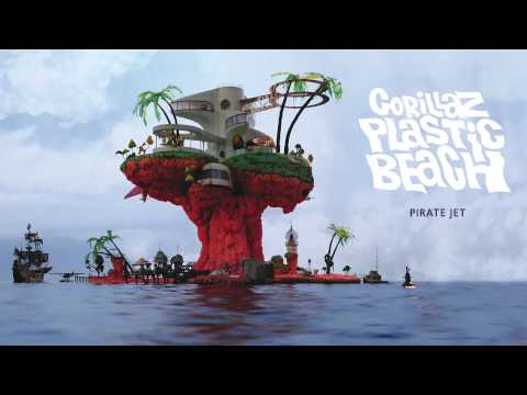 Клип Gorillaz - Pirate Jet