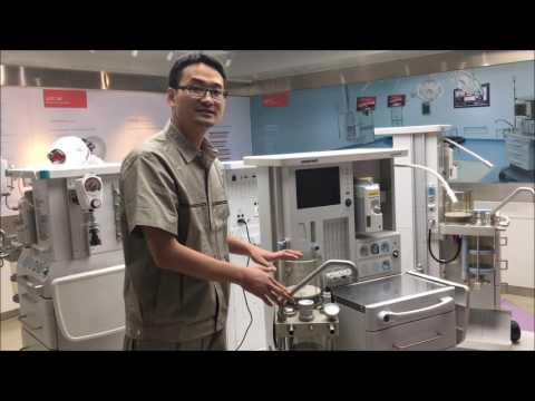 Anesthesia Machine 8600A Brief  Chee