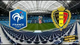 Франция Бельгия Чемпионат Европы 1 4 финала