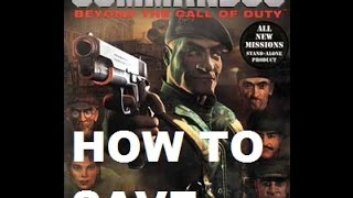 COMO salvar O JOGO NO Commandos: Beyond the Call of Duty