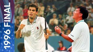 Pete Sampras vs Michael Chang   US Open 1996 Final