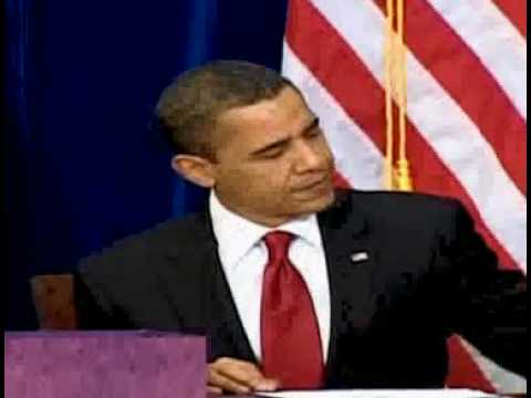 Obama Signs the American Recovery and Reinvestment Act (ARRA) 02/17/09