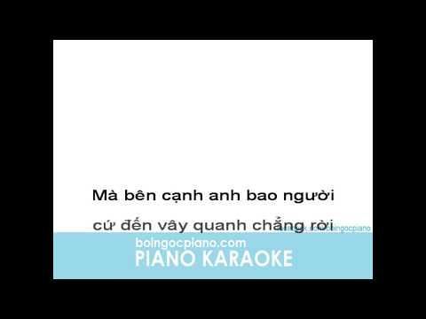Thư Chưa Gửi Anh Karaoke | Piano Karaoke #5 | Bội Ngọc Piano