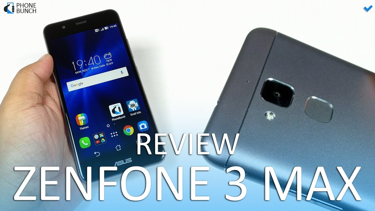asus zenfone 3 max full review pros and cons youtube. Black Bedroom Furniture Sets. Home Design Ideas