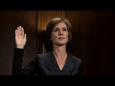Yates to testify she warned W.H. about Michael Flynn