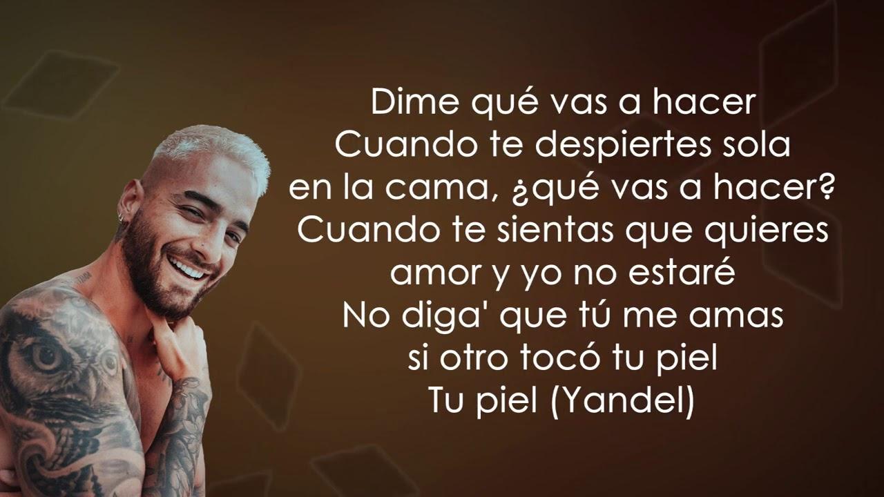 Yandel, Maluma - Qué Vas A Hacer (Letra/Lyrics)