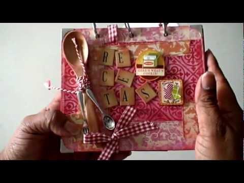 Mi libro de recetas youtube - Como hacer un libro hueco ...