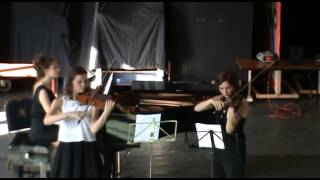 Duet with piano by Moskowsky