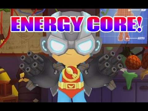 Energy Core FULLY UPGRADED + Epic - Bloons Super Monkey 2