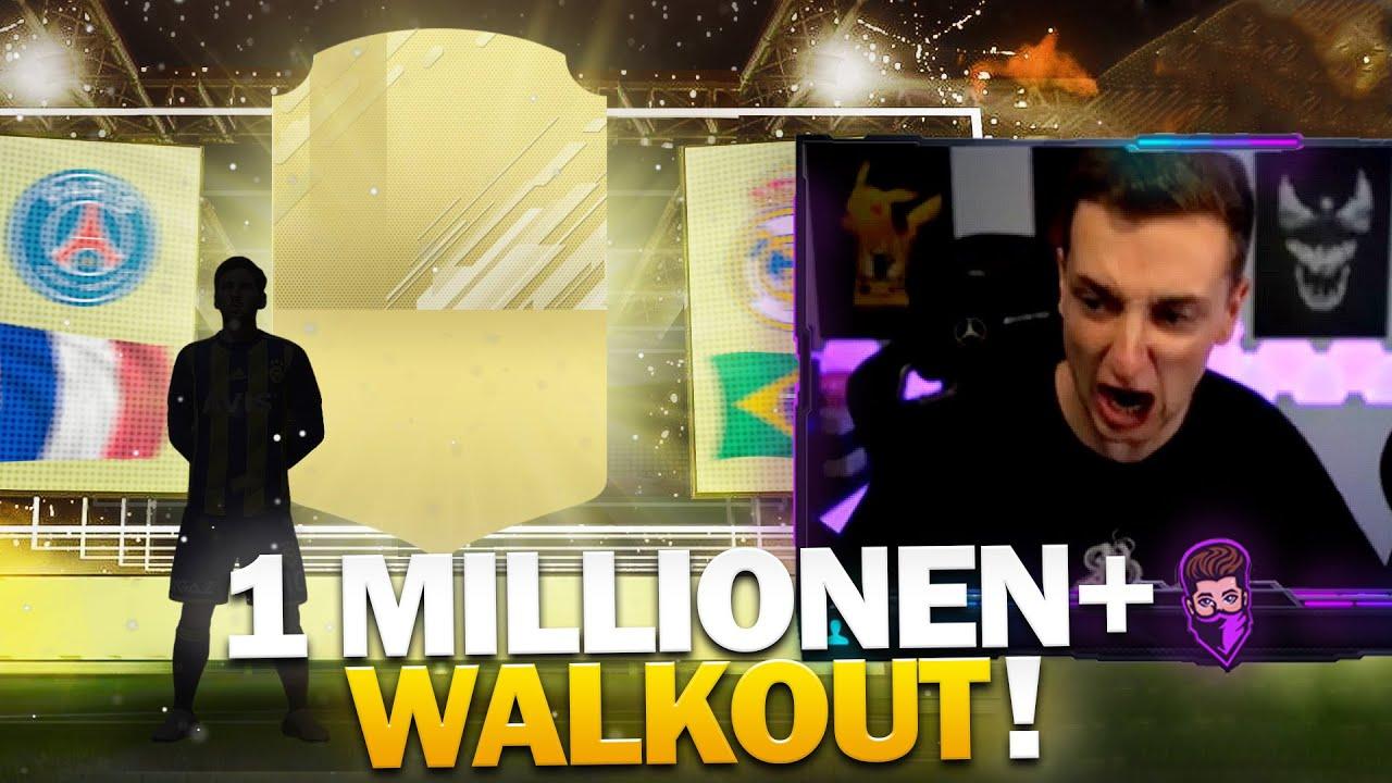 1+ Millionen WALKOUT ? | FIFA 21 Pack Opening | Pain