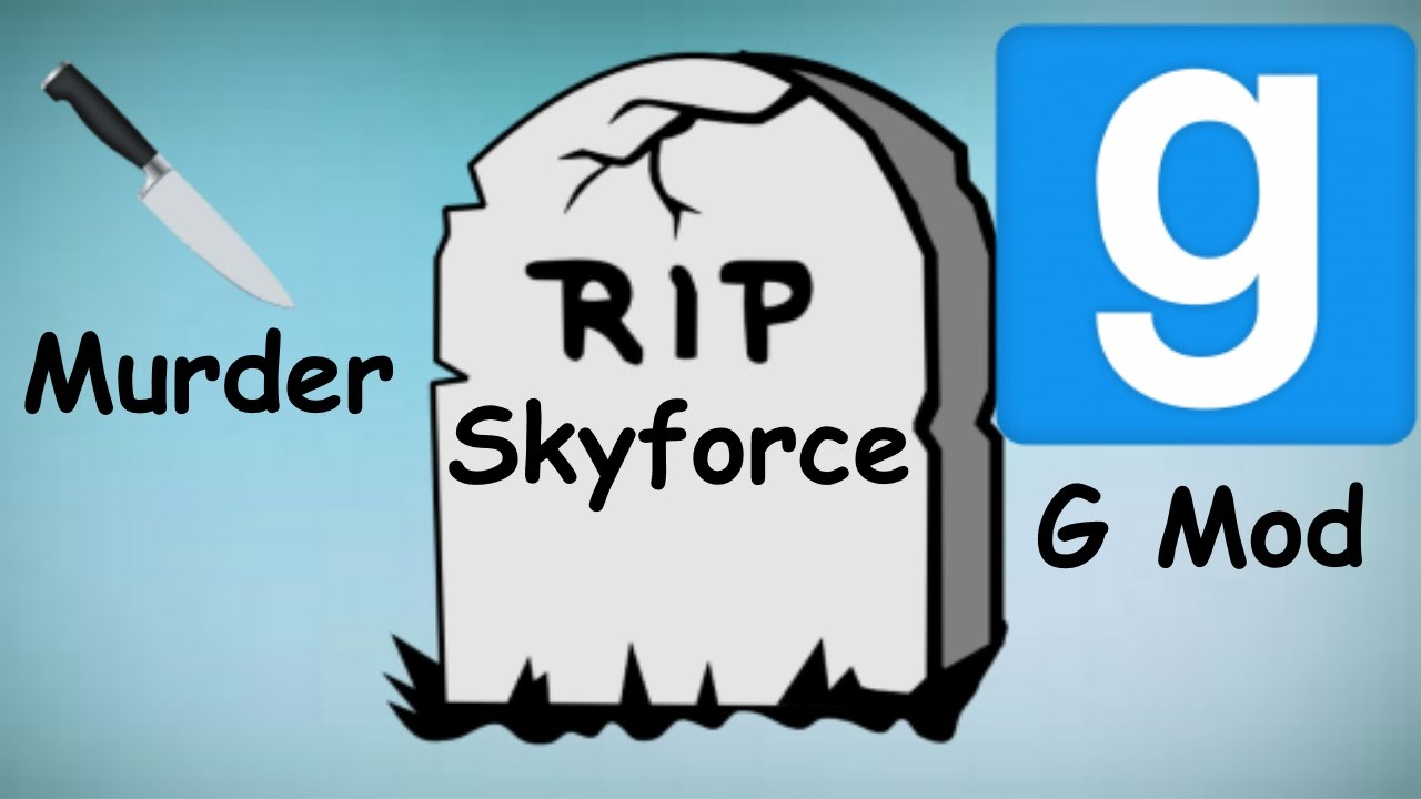 Download Garry's mod murder funny moments, Ghost, India, Morgan Freeman, and Skyforce died!