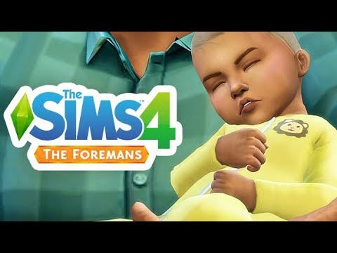 A BABY WAS BORN 👶🧡 | THE SIMS 4 // FOREMAN'S — 53