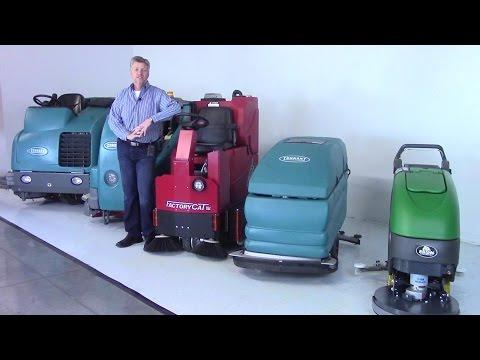Scrubber & Sweeper Rental Program | FCE