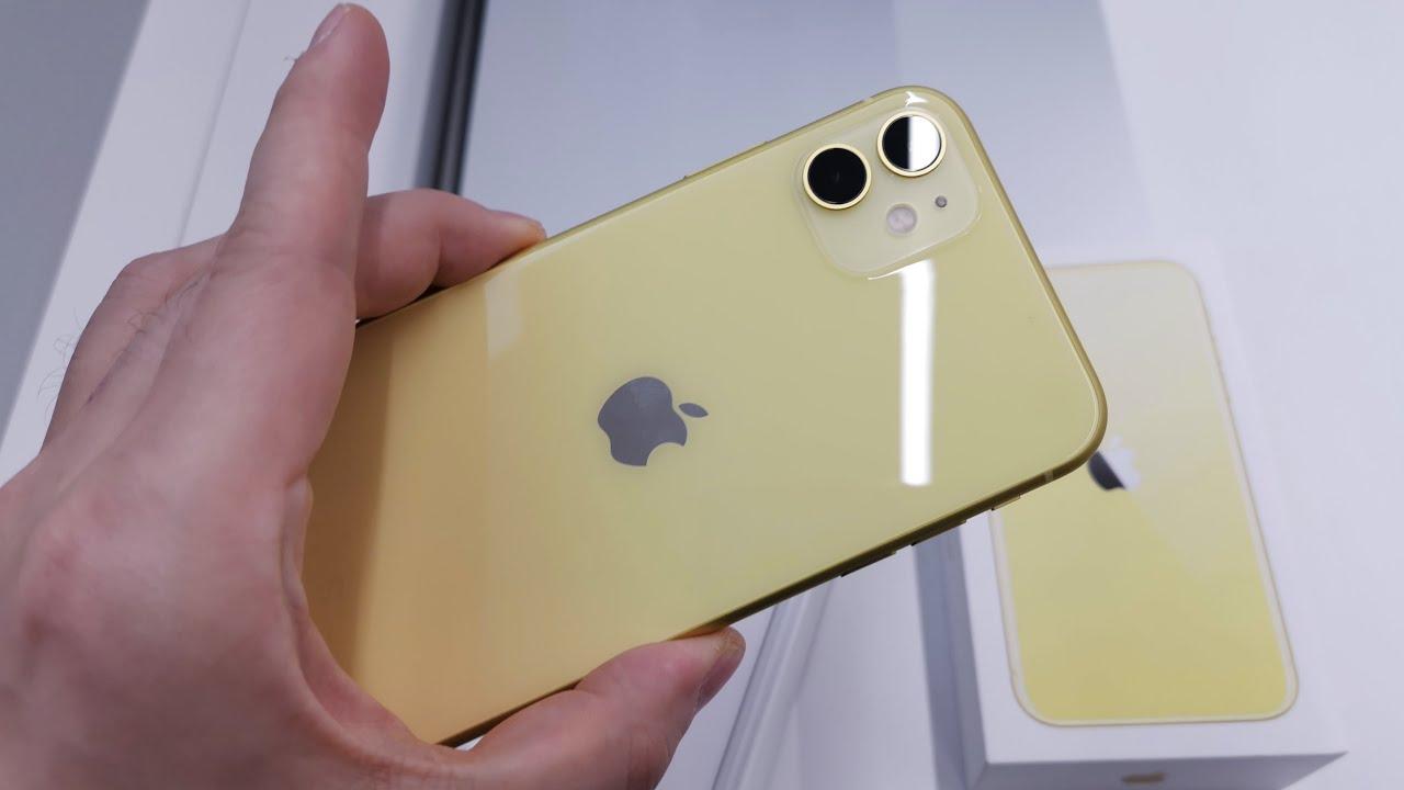 ? Am scos din cutie iPhone 11 înainte să ies cu el din magazin... (Unboxing în Română)