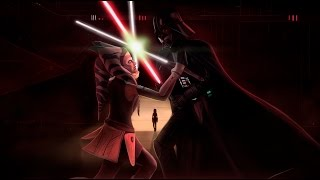 Асока Тано против Дарта Вейдера (дубляж Невафильм) HD