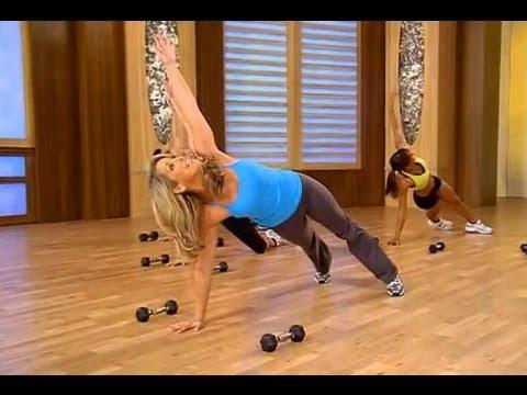 Cardio Burn Weight Training Workout - YouTube