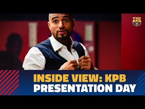 [BEHIND THE SCENES] Kevin-Prince Boateng's first day at Camp Nou