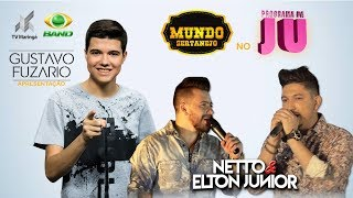 Baixar Netto & Elton Junior | Mundo Sertanejo no Programa da Ju | Band TV Maringá (18/08/2018)