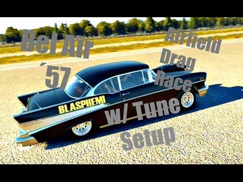 Forza Horizon 2 Airfield Drag Race 1957 Chevy Bel Air Wtune
