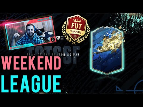 FUT CHAMPIONS WEEKEND LEAGUE #104 FIFA 20 ULTIMATE TEAM LIVE🔴