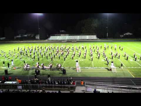 Washington Community High School Marching Panthers 2014 Metamora Invitational