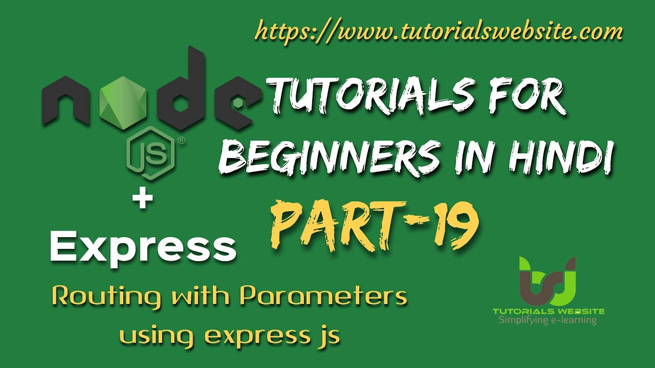 The hash fragment is also fetched by using the activatedroute by subscribing to the fragment observable as shown below: Node.js Tutorials for beginners in hindi | Create Route ...