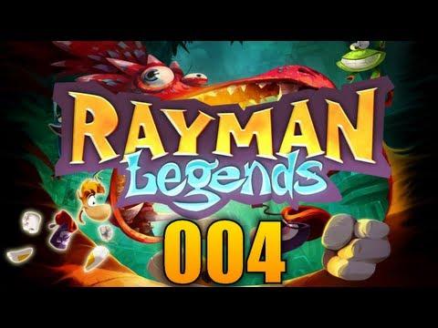 RAYMAN LEGENDS #04 - Castle Rock! ♦ Let's Play Rayman Legends
