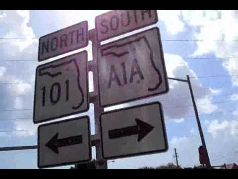 In Florida, we find A1A... beach front avenue!!