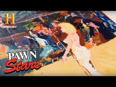 "Pawn Stars: Leroy Neiman ""Happy Birthday, Mr. President"" Art Print (Season 14) | History"