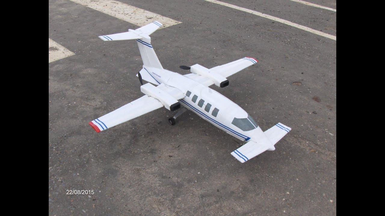 rc piaggio p 180 avanti: test flight. piaggio p 180 avanti: vuelo