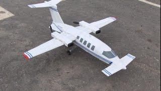 RC PIaggio P 180 Avanti: Test Flight.  Piaggio P 180 Avanti: vuelo de prueba