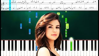 Selena Gomez - People You Know (Piano Sheets) Advanced